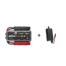 Noco Genius GB70 Boost HD Jumpstart 12v (2000A) + XGC4 220v lader