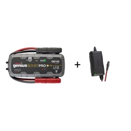 Noco Genius GB150 Boost Pro Jumpstarter 4000A + XGC4 lader