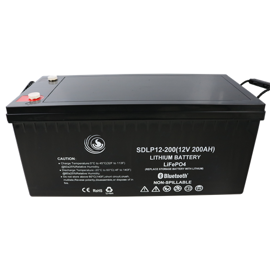SD Power Lithium batteri 12volt 200Ah (seriel + parallel)