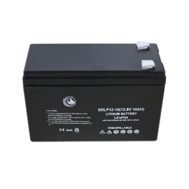 SD Power Lithium batteri 12volt 10Ah (seriel + parallel)