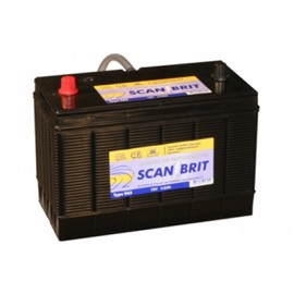 Scanbrit Marinebatteri 115Ah