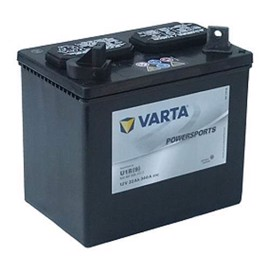 Varta  Fun start MC batteri 12 volt 22 Ah (+pol til venstre)