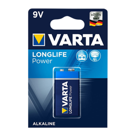 Varta 9V / 6LR61 High Energy alkaline batteri