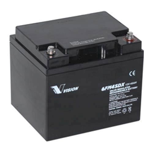 Toppen Elscooter batteri 12 volt 45Ah 6FM45 XU-26