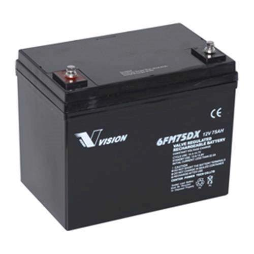 Elscooter batteri 12 volt 75Ah 6FM75