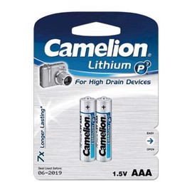 Camelion L92 / AAA Lithium batterier (2 stk)