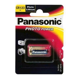 Panasonic CR123A 3V Lithium batteri