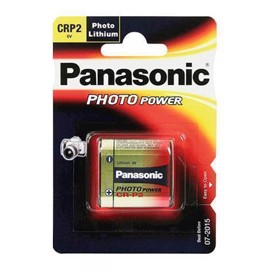 Panasonic CR-P2 Lithium foto batteri 6volt