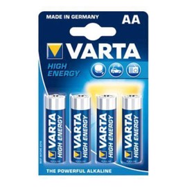 Varta LR6 / AA High Energy alkaline batterier