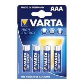 Varta LR03 / AAA High Energy alkaline batterier